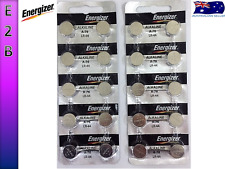 20 X Energizer LR44 A76 AG13 357 SR44 1.5V Button Cell Batteries Tear Strip