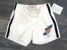 POLO SPORT SAMPLE RALPH LAUREN SHORTS SIZE MEDIUM COLLECTORS EDITION OFF-WHITE