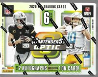 2020 CONTENDERS OPTIC Panini Football HOBBY BOX #41 RANDOM 1-TEAM BREAK AUTO?
