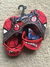 Spiderman Flip Flop Sandals Boys Shoes Size Small 5-6