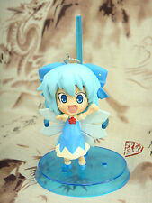 Japanese Pink Company Touhou Project Vol.1 Cirno Eyes Open Figure Phone Strap