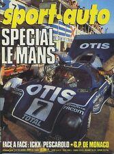 SPORT AUTO n°245/06 1982 24h du MANS TOUR de CORSE AVEC ENCART & POSTER