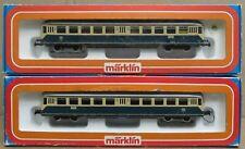 Marklin HO 3028/4028 Rail Car & Control Car LNIB