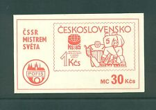 Czechoslovakia 1985 30k Ice  Hockey Championship Booklet