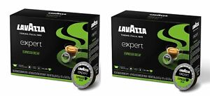 Lot of 2 Lavazza Expert Espresso Decaf 36 Capsules each, 72  total, BB 05/21