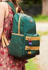 Matilda Jane CROSS CAMPUS Backpack Green Polka Dot School Bookbag NWT