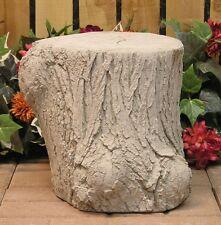Woodland Log Stump Bench Leg Base Latex Fiberglass Production Mold Concrete