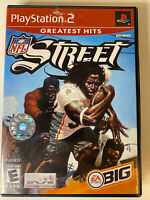NFL STREET - GREATEST HITS PS2 PLAYSTATION 2 Complete with Manual