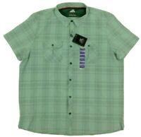 Zeroxposur Mens Button Front Plaid Shirt Size XXXL MSRP $60.00