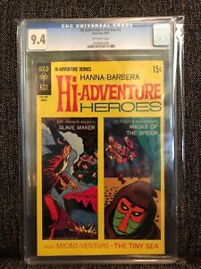 Hi-Adventure Heroes #2 CGC 9.4 1969 Gold Key Comic HANNA-BARBERA Arabian Knights