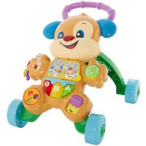 BOX DAMAGED Fisher-Price Laugh& Learn Smart Stages Learn with Puppy Walker FHY94