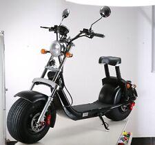 E-SCOOTER HARLEY-STEEL - 1500W 60V 20Ah 55km range 40km/h - mit COCO EEC bike