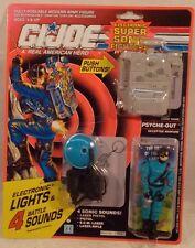 G.I. Joe Super Sonic Fighters - Psyche-Out Deceptive Warfare Battle Sounds (MOC)