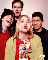"PAT SMEAR Authentic Hand-Signed ""NIRVANA"" 8x10 photo (FOO FIGHTERS) (JSA COA)"