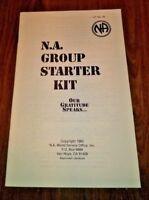 Narcotics Anonymous Historic Orig 1983 NA Group Starter Kit - copyright Van Nuys