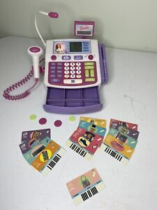 VINTAGE MATTEL Barbie SHOP WITH ME BARBIE TALKING CASH REGISTER TESTED / WORKING