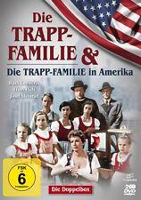 Die Trapp Familie & Die Trapp-Familie in Amerika - Doppelbox - Filmjuwelen [DVD]