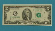BINARY, BINARY, BINARY!!! 2013 $2.00 NOTE FROM NEW YORK DISTRICT NEW, CRISP.
