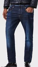 G-Star 3301 Bajo Cónicos Para Hombre Jeans Azul W38 L34 * REF48-14