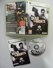 JEU XboX 360 Dead to Rights Retribution   complet