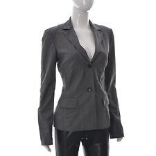 Hugo Boss JONA Womens lady Two Button Blazer Office jacket top Suit Grey UK8 US4