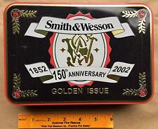 Smith & Wesson Golden Issue - 150th Anniversary Collectible Knife in Sealed Tin