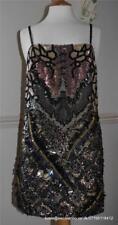 BNWT £295 All Saints Dreamcatcher Sequin/Embellished/Beaded Dress Size 14
