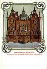 Villingen Schwarzwald ~1900 Astronomische Wereldklok Weltuhr Klok Uhr ungelaufen