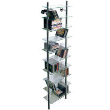 Wall Mounted Glass CD Storage Shelves - CH1530