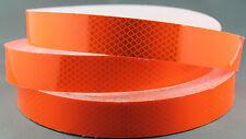 3M Fluro Orange (4084) Diamond Grade Class 1 Reflective Tape 30mm x 10m