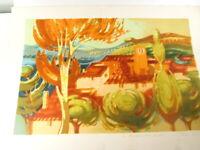 Epreuve d'Artiste, dédicacé, numérotée, XXième,paysage,P. Baudin,signée, E A, g