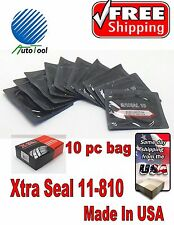 "XTRA SEAL 11-810 Square Booth Radial Tire Repair Patch  2-1/4"" x 3"" Bag of 10"
