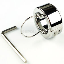 Ball Stretcher Weight Testicle Weights Stainless Steel 270g(9.5oz) Locking Ring