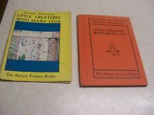 1944 LITTLE CREATURES WITH MANY LEGS Nature Science Books HC/DJ by Charles Gable