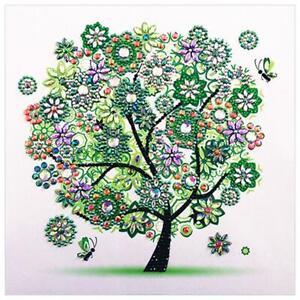 5D DIY Special-shaped Drill Diamond Painting Tree Spring Cross Stitch Kit