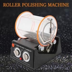 5KG Trowalisiermaschine Polierer Poliertrommel Schmuck Poliermaschine 150W NEU