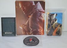New XBOX ONE/PS4 Battlefield One Steelbook, Deck of Cards, Patch, Cloth Poster