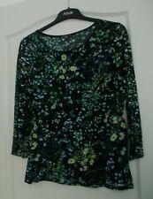 Damen Shirt, Bluse, schönes Oberteil v. Street One, Gr. 42