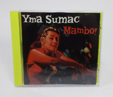 Mambo! by Yma Sumac (CD, 1996, The Right Stuff) [Exotica, Lounge, Latin Jazz]