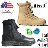 SWAT Men's Tactical Duty Boots Army Military Combat Army Work Boots Hiking Shoes