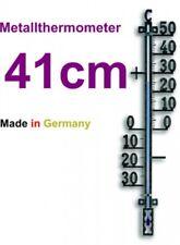 Außenthermometer Gartenthermometer analog Metallthermometer große Zahlen