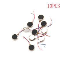 10PCS DC 3V 70mA 12000RPM For Phone Coin 1034 Vibrating Vibration Motor  X