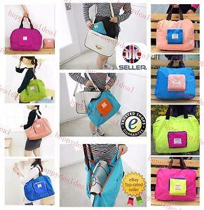 Waterproof Folding Shoulder Handbag Shopper Reuse Tote Beach Shopping Travel Bag