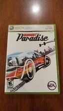 Burnout Paradise (Microsoft Xbox 360, 2009) GOOD, MAIL IT TOMORROW!