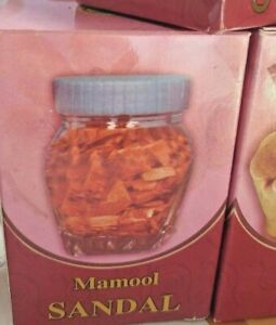 Bukhoor MAMOOL SANDAL UAE Smell Fregrance Refresh Arabic Home Bakhoor Wood Decor