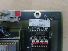 NIKON KBA-00650 4S007-320-A LC-SIG4 PCB