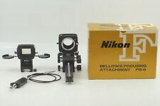 [MINT in BOX] Nikon Bellows PB-6 w/ PS-6 Slide copying Adapter + Release Japan