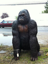 LIFE SIZE Real Bronze Statue KING KONG GORILLA MONKEY Sculpture Garden Yard Art