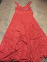 NWT Free People Intimate Women's Tank Top Strap Love Story Maxi Slip Dress Sz: M