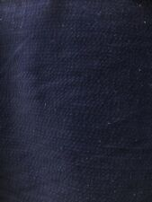 Navy Blue Striped Corduroy 100% Cotton Fabric (40 in.) Sold By The Yard